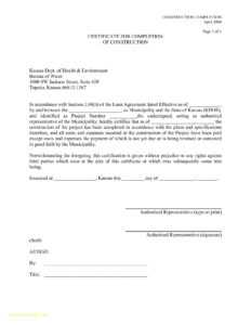 Certificate Of Completion Construction Template – Bestawnings pertaining to Practical Completion Certificate Template Uk