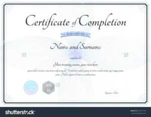 Certificate Of Completion Construction Template – Bestawnings with Certificate Of Completion Free Template Word