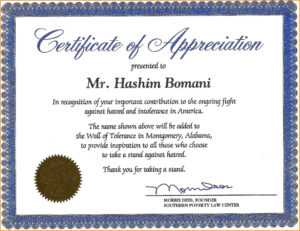 Certificate Of Recognition Wording Copy Certificate pertaining to Volunteer Award Certificate Template