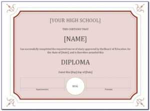 Certificate Seal Template Free | Marseillevitrollesrugby for Free Ordination Certificate Template