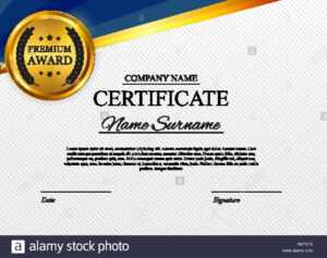 Certificate Template Background. Award Diploma Design Blank pertaining to Star Award Certificate Template