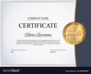 Certificate Template Background Award Diploma in Academic Award Certificate Template