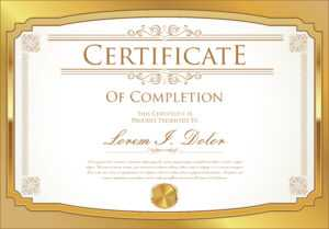 Certificate Template – Download Free Vectors, Clipart for Commemorative Certificate Template