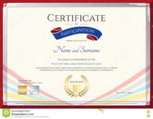 Certificate Template For Achievement, Appreciation Or in International Conference Certificate Templates