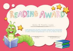 Certificate Template For Reading Award – Download Free with regard to Star Award Certificate Template