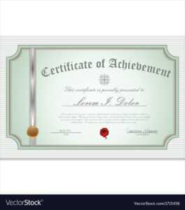 Certificate Template in Commemorative Certificate Template