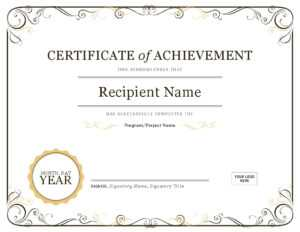 Certificate Template In Word   Safebest.xyz throughout Free Certificate Templates For Word 2007