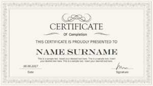 Certificate Template Powerpoint   Safebest.xyz inside Powerpoint Certificate Templates Free Download
