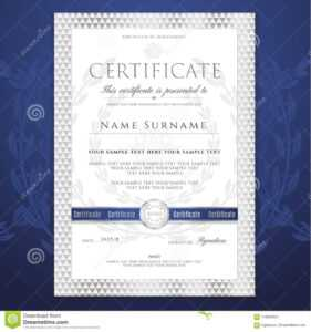 Certificate Template. Printable / Editable Design For with regard to Free Printable Graduation Certificate Templates