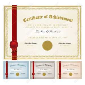 Certificate Template Vector pertaining to Player Of The Day Certificate Template