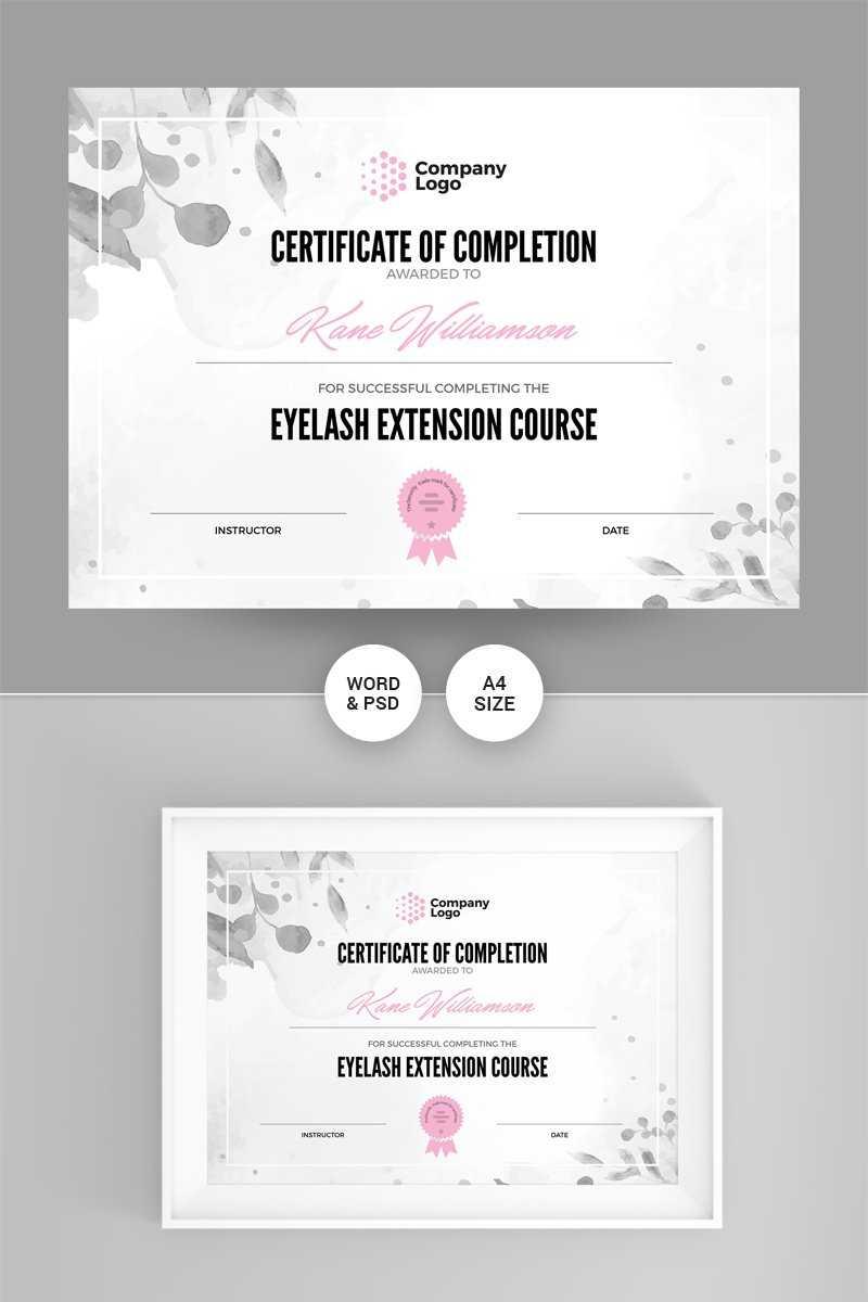 Certificate Templates | Award Certificates | Templatemonster In Pages Certificate Templates