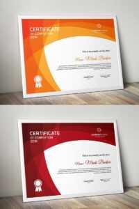 Certificate Templates | Award Certificates | Templatemonster throughout No Certificate Templates Could Be Found