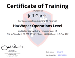 Certificates Of Training Completion Templates – Simplecert for Safe Driving Certificate Template