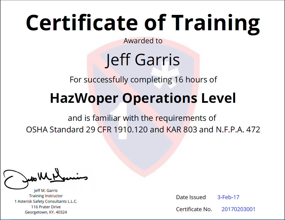Certificates Of Training Completion Templates - Simplecert For Safe Driving Certificate Template