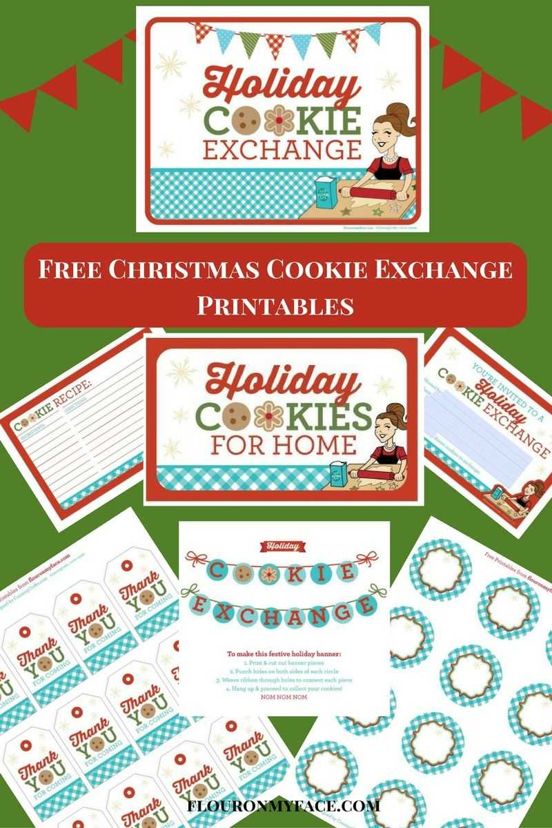 Chocolate Covered Raspberry Jellies Candy Inside Cookie Exchange Recipe Card Template