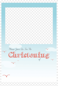 Christening Png Free – Baptism Invitation Template Png for Free Christening Invitation Cards Templates