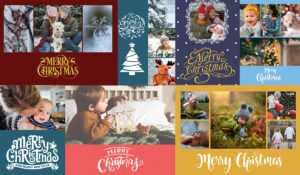 Christmas Card Psd Templates For Photographers – Slr inside Holiday Card Templates For Photographers