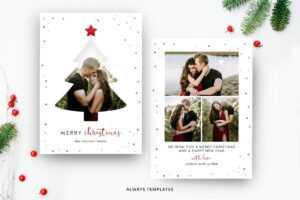 Christmas Card Template Cc026 regarding Holiday Card Templates For Photographers
