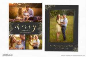 Christmas Card Template For Photographers Cc199 within Holiday Card Templates For Photographers