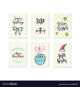 Christmas Card Templates throughout Christmas Note Card Templates