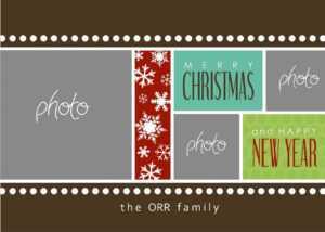 Christmas Cards Templates Photoshop ] – Christmas Card in Free Christmas Card Templates For Photoshop