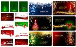 Christmas Cards Vector | Vector Graphics Blog for Christmas Photo Cards Templates Free Downloads