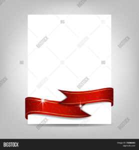 Christmas Flyer Vector & Photo (Free Trial) | Bigstock in Christmas Brochure Templates Free
