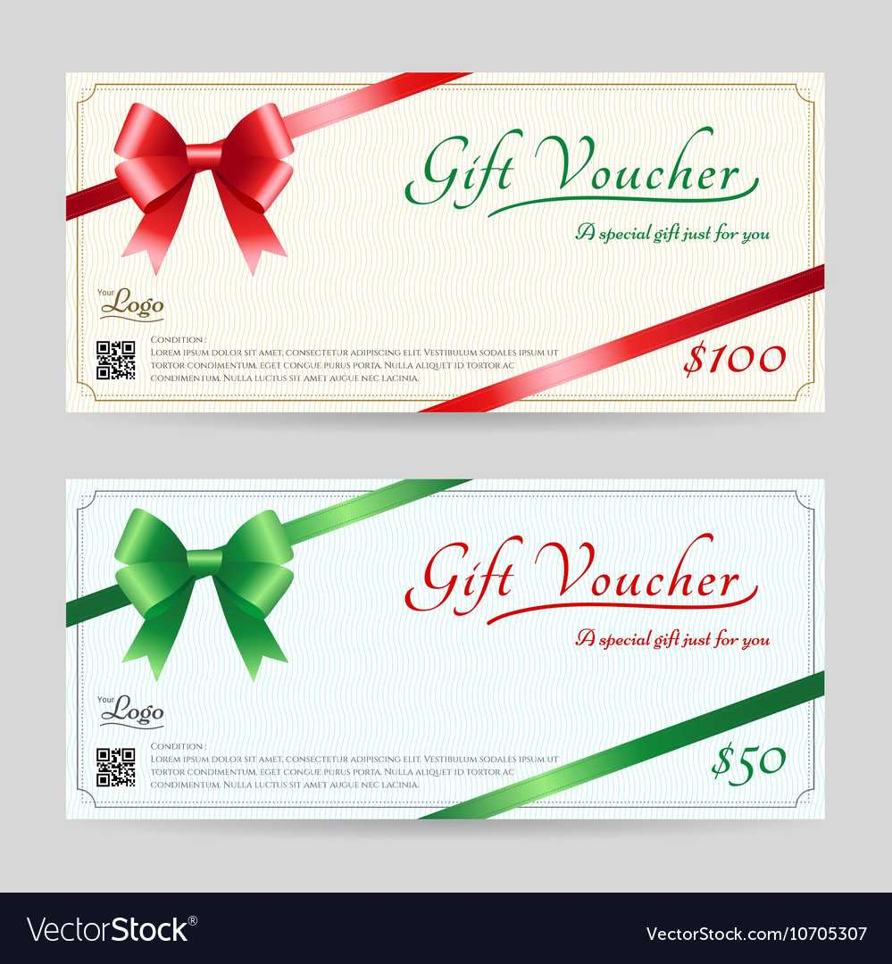 Christmas Gift Card Or Gift Voucher Template Intended For Christmas Gift Certificate Template Free Download