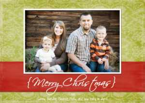 Christmas Holiday Card Templates For Photographers Photoshop inside Free Photoshop Christmas Card Templates For Photographers