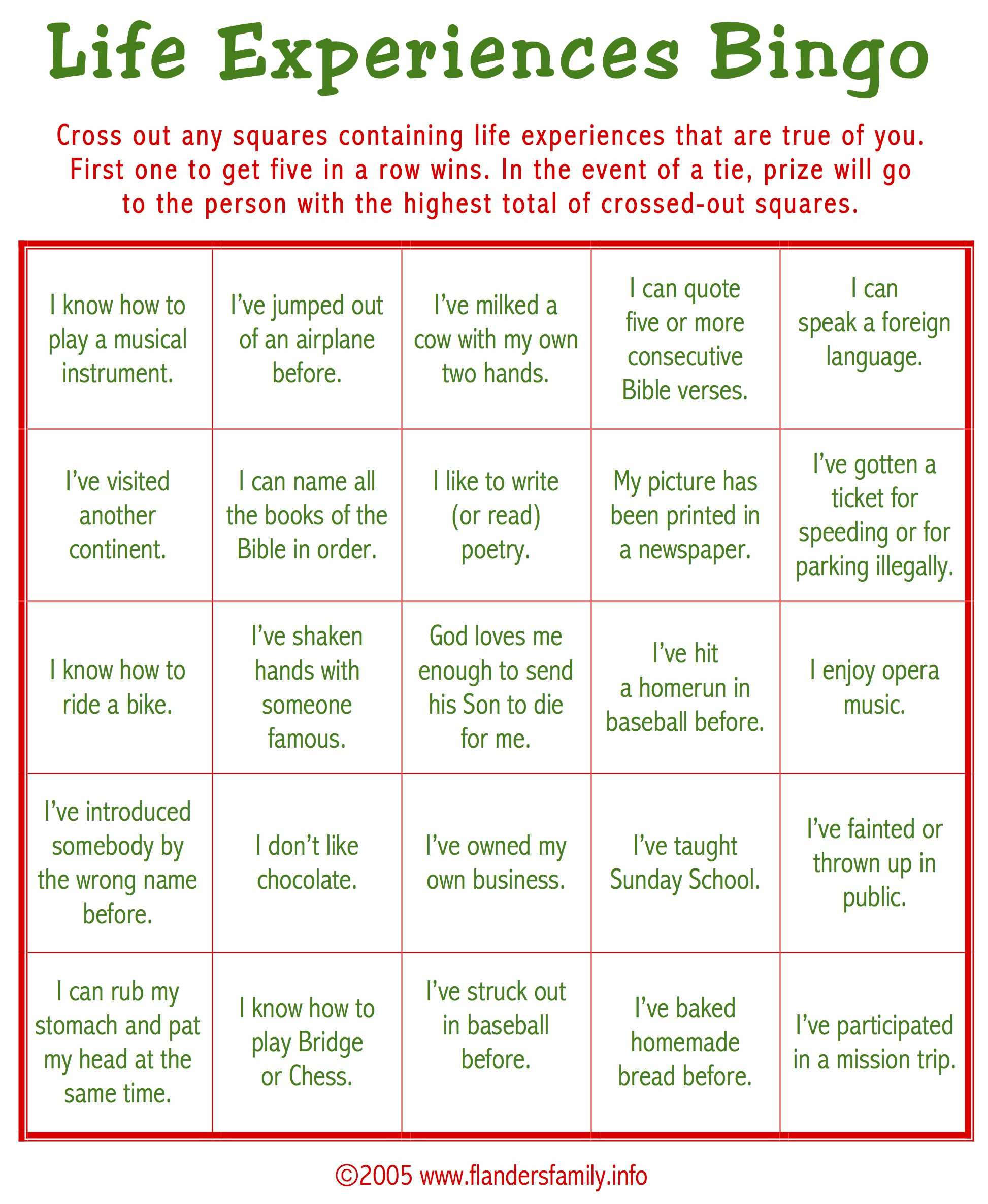 Christmas Ice Breaker Bingo (Free Printable) - Flanders Throughout Ice Breaker Bingo Card Template