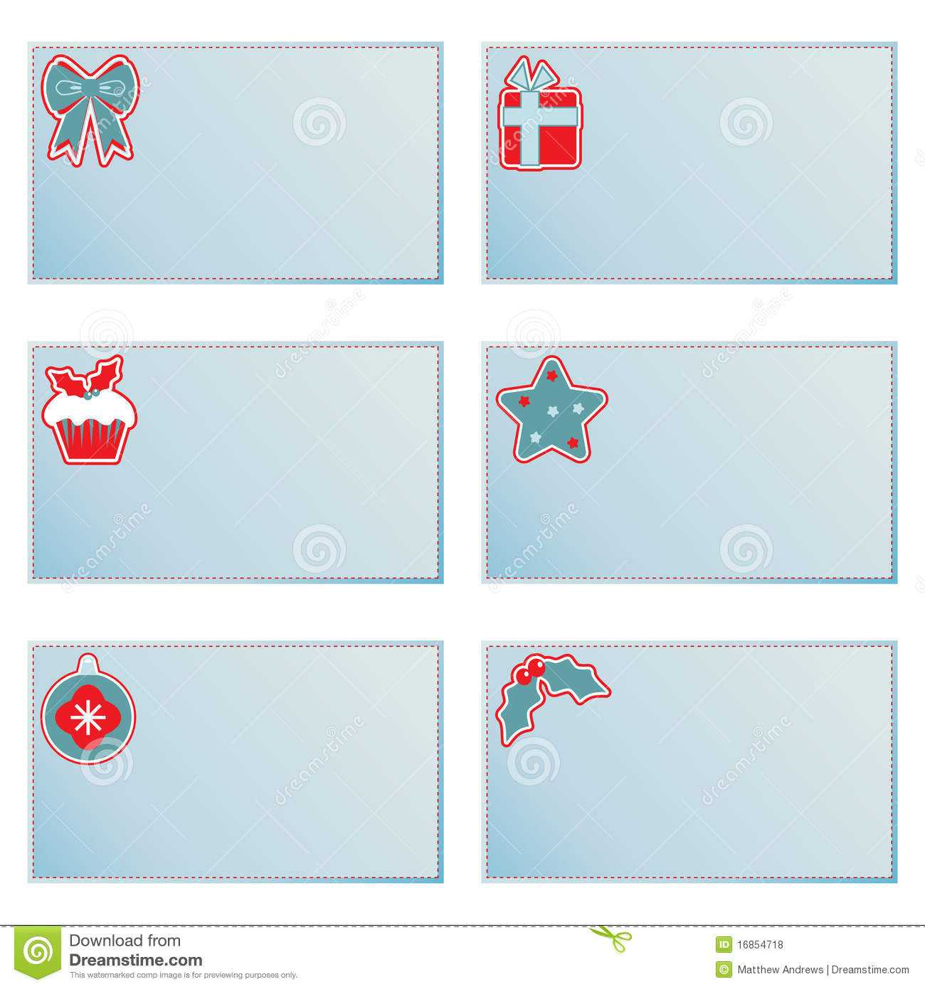 Christmas Note Cards Stock Vector. Illustration Of Christmas With Christmas Note Card Templates