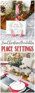 Christmas Printables – Free Printable Christmas Place Cards within Christmas Table Place Cards Template