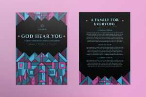 Church Templates Suite On Behance intended for Free Church Brochure Templates For Microsoft Word