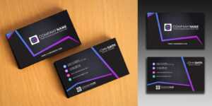 Clean And Simple Business Card Template intended for Buisness Card Templates