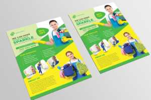 Cleaning Flyer Template On Sdm Creative Collective for Commercial Cleaning Brochure Templates