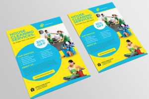 Cleaning Services Flyer Template On Student Show regarding Commercial Cleaning Brochure Templates