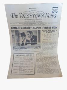 Clip Art Powerpoint Newspaper Templates – Newsprint inside Newspaper Template For Powerpoint