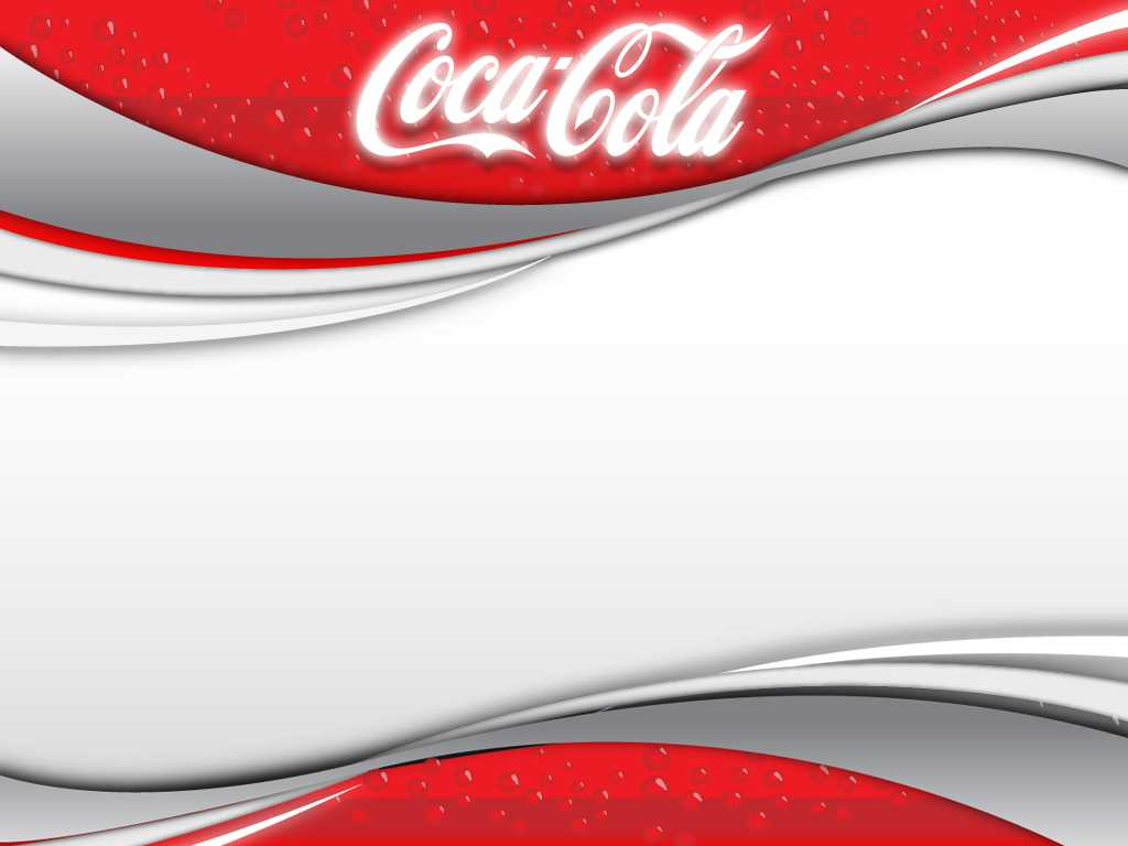Coca Cola 2 Background For Powerpoint - Miscellaneous Ppt Pertaining To Coca Cola Powerpoint Template