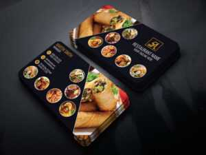 Code Graphic – Print, Icons, Fonts, Mockups Template throughout Restaurant Business Cards Templates Free