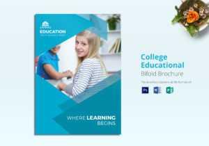 College Educational Brochure Template regarding Brochure Design Templates For Education