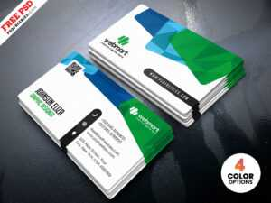 Colorful Business Card Design Templates Psd – Uxfree with regard to Visiting Card Psd Template Free Download