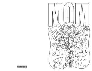 Coloring Pages : Free Printable Mothers Day Ecards To Color intended for Mothers Day Card Templates