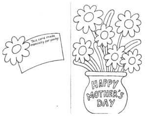 Coloring Pages : Mother Day Coloring Pages To Print At intended for Mothers Day Card Templates