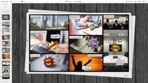 Comic Book Presentation Prezi Template | Prezibase in Powerpoint Comic Template