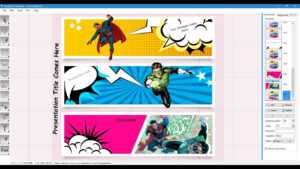 Comic Strip Template throughout Powerpoint Comic Template