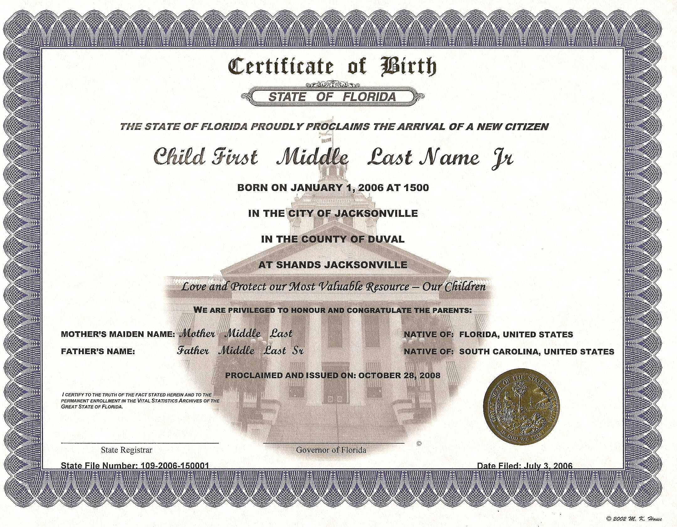 Commemorative Certificate Template ] - Keepsake Amp Regarding Commemorative Certificate Template