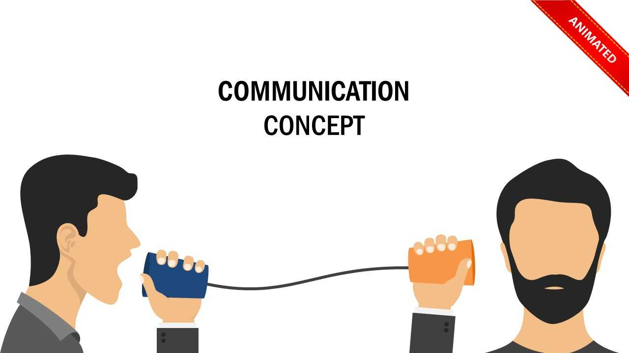 Communication Concept Powerpoint Template Intended For Powerpoint Templates For Communication Presentation