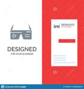 Computer, Computing, Digital, Glasses, Google Grey Logo with regard to Google Search Business Card Template