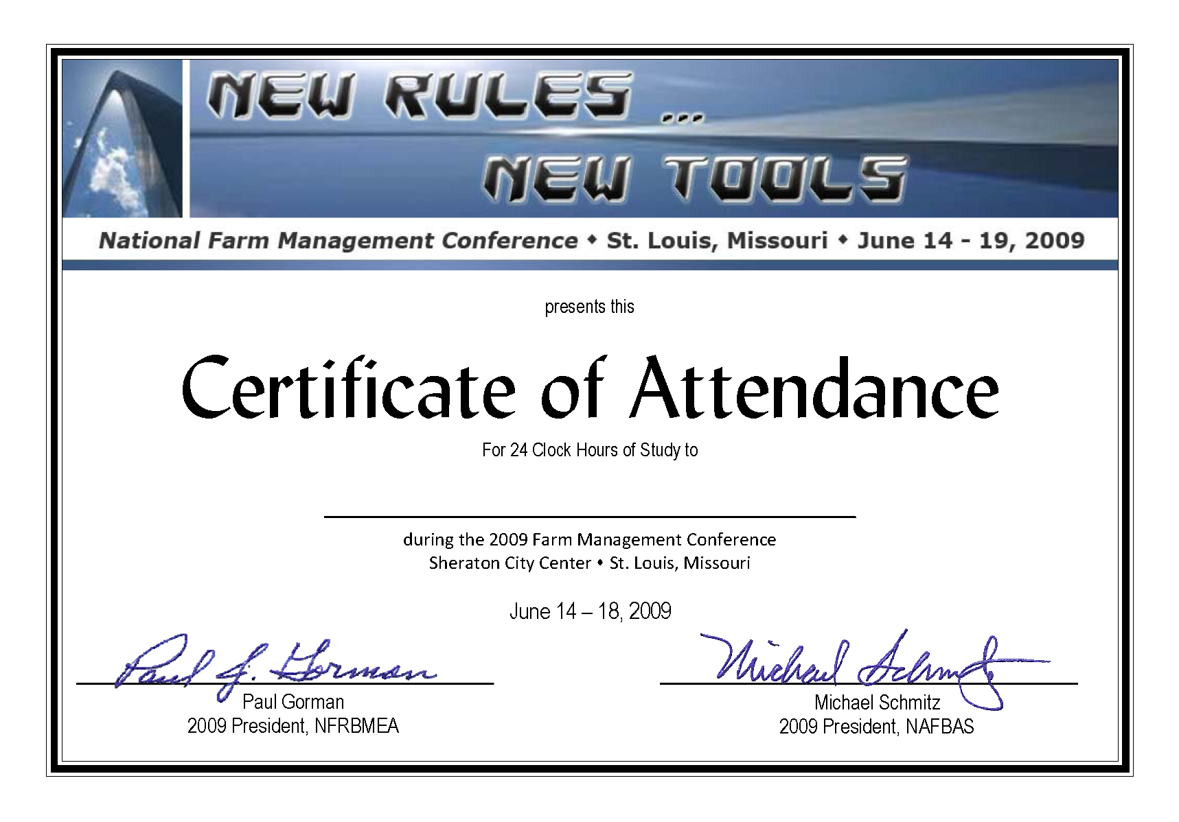 Conference Certificate Of Attendance Template - Great With Regard To Conference Certificate Of Attendance Template
