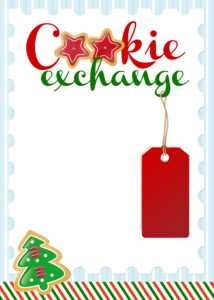 Cookie Exchange Party {Free Printables} – How To Nest For Less™ Throughout Cookie Exchange Recipe Card Template